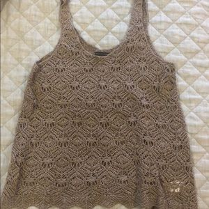 American Eagle sweater tank
